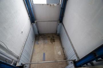 Грузовой гидравлический подъёмник для подземной электростанции Инновационного центра 'Сколково' 1