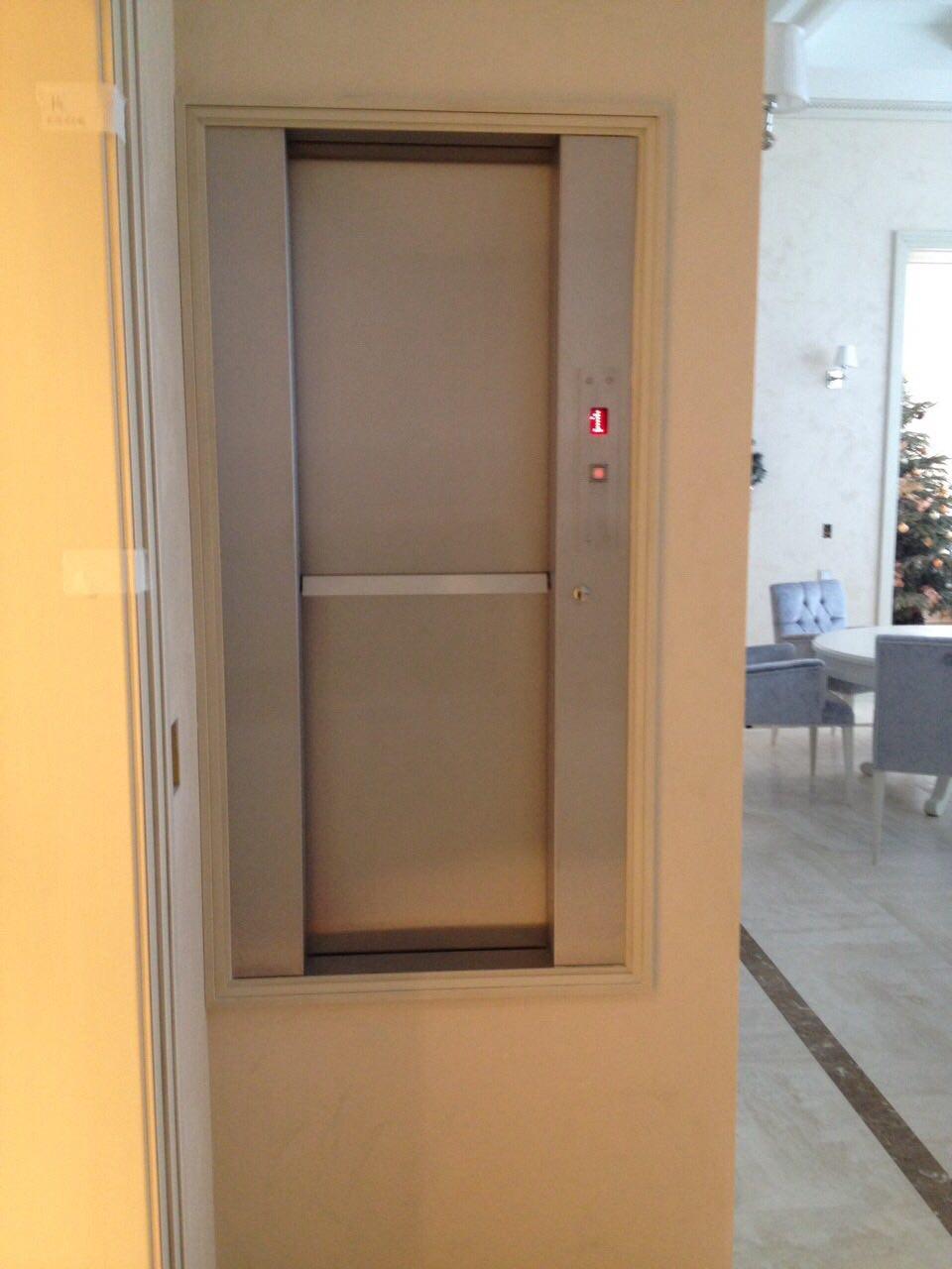 Малый грузовой лифт для коттеджа в поселке 'Петровский' 2